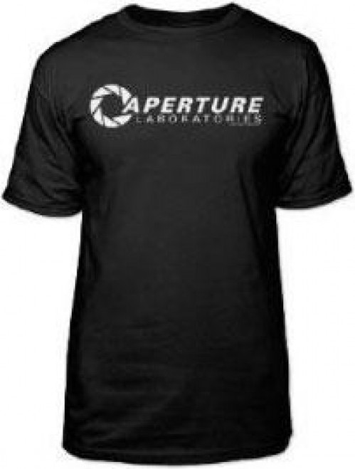 Portal 2 Aperture Laboratories Logo T-Shirt [Small]