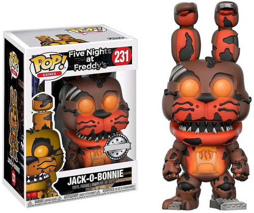 Funko Five Nights at Freddy's POP! Games Jack-O-Bonnie Exclusive Vinyl Figure #231 [Glow-in-the-Dark]