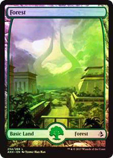 MtG Amonkhet Land Forest #254 [Full Art Foil]