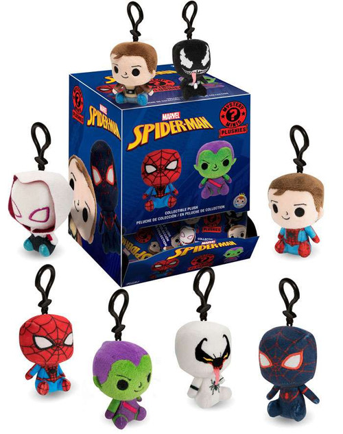 Funko Marvel Mystery Minis Plush Spider-Man Mystery Pack