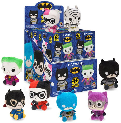 Funko DC Mystery Minis Plush Batman Mystery Box [12 Packs]