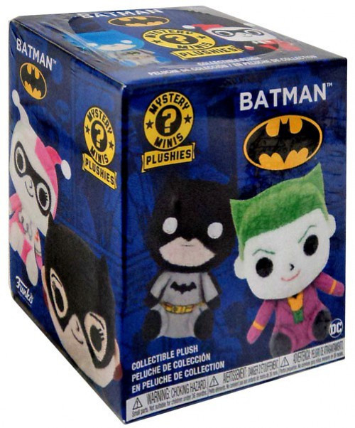 Funko DC Mystery Minis Plush Batman Mystery Pack [1 RANDOM Figure]