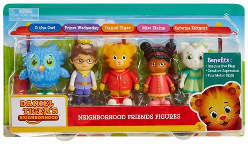 Daniel Tiger's Neighborhood Friends Figure 5-Pack
