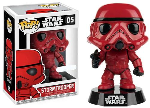 Funko POP! Star Wars Stormtrooper Exclusive Vinyl Bobble Head #05 [Red]