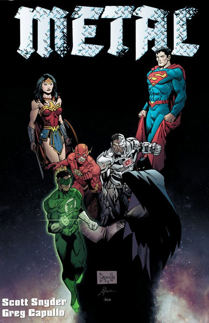 DC Dark Nights Metal #1 Comic Book [Standard Cover]