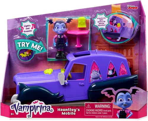 Disney Junior Vampirina Hauntley's Mobile Figure & Vehicle
