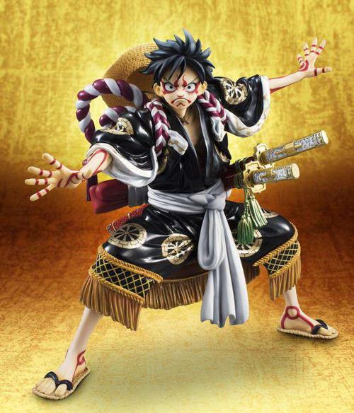 One Piece Portrait of Pirates Monkey D. Luffy Action Figure [Variant Kabuki Edition]