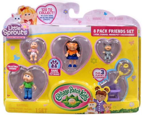 Cabbage Patch Kids Little Sprouts Quinn Sophia Mini Figure 8-Pack