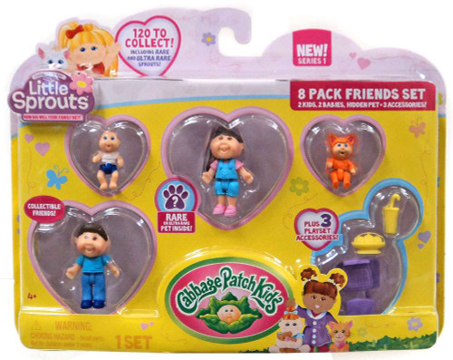 Cabbage Patch Kids Little Sprouts Brook Jade Mini Figure 8-Pack