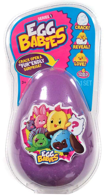 Egg Babies Series 1 Purple Mystery Plush