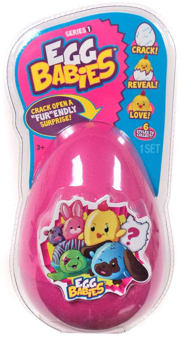 Egg Babies Series 1 Pink Mystery Plush
