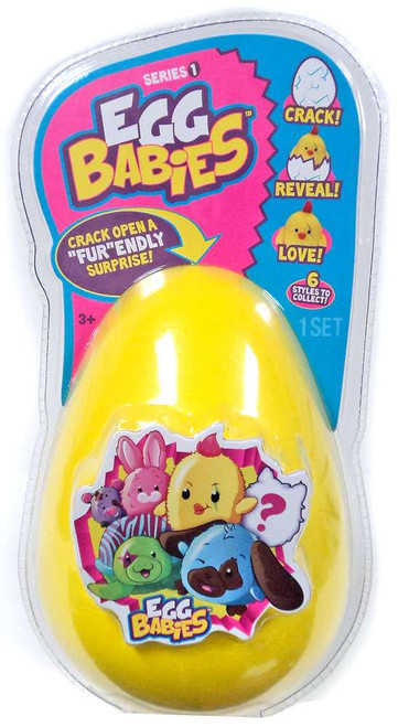 Egg Babies Yellow Mystery Plush