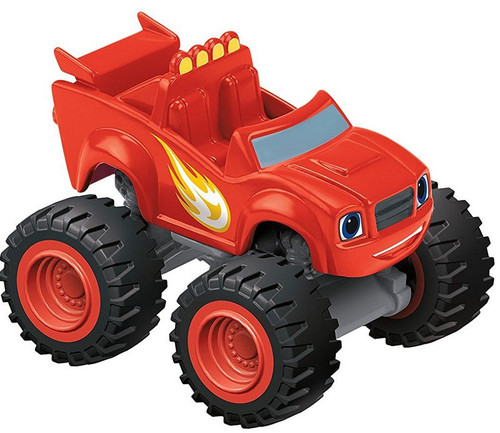 Fisher Price Blaze & the Monster Machines Nickelodeon Blaze Plastic Car