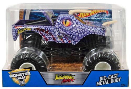 Hot Wheels Monster Jam 25 Jurassic Attack Die-Cast Car