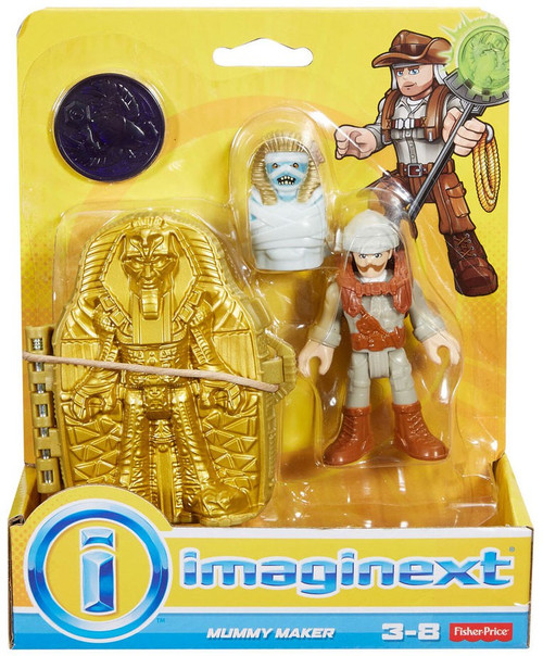 Fisher Price Imaginext Mummy Maker Figure Set