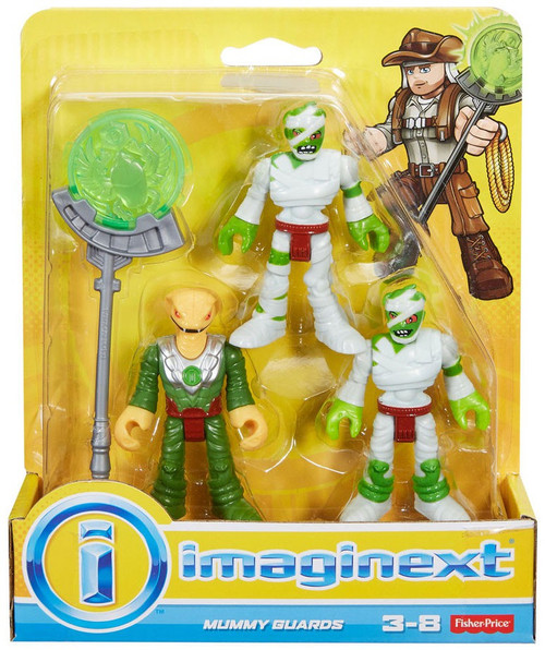 Fisher Price Imaginext Mummy Guards Figure Set