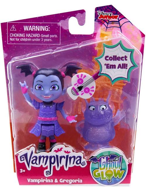 Disney Junior Ghoul Glow Vampirina & Gregoria Figure