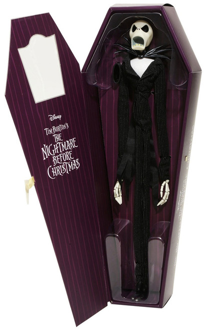 Nightmare Before Christmas Coffin Doll Jack Skellington Exclusive 16-Inch [Limited Edition]