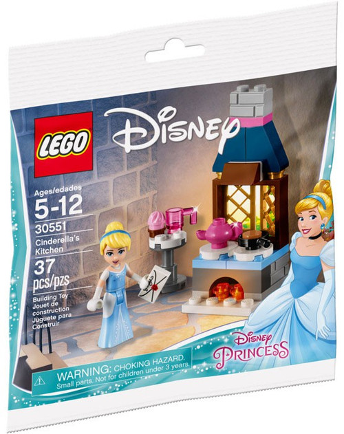 LEGO Disney Princess Cinderella's Kitchen Set #30551