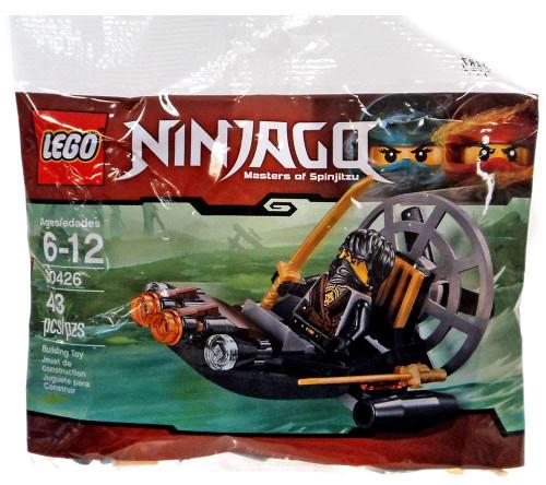 LEGO Ninjago Stealthy Swamp Airboat Set #30426 [Bagged]
