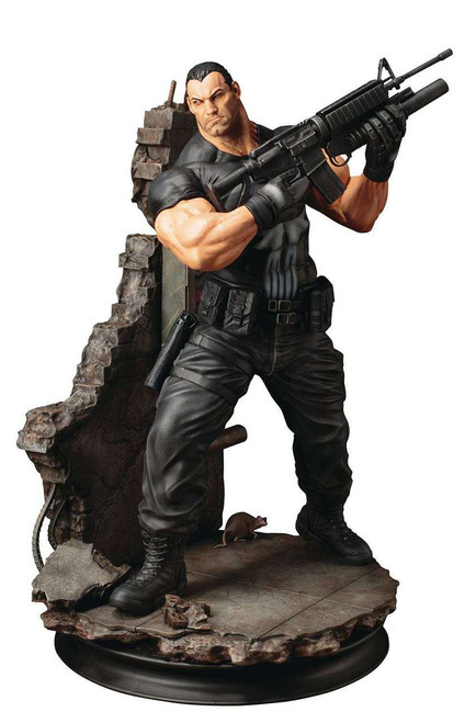 Marvel Punisher FIne Art Statue