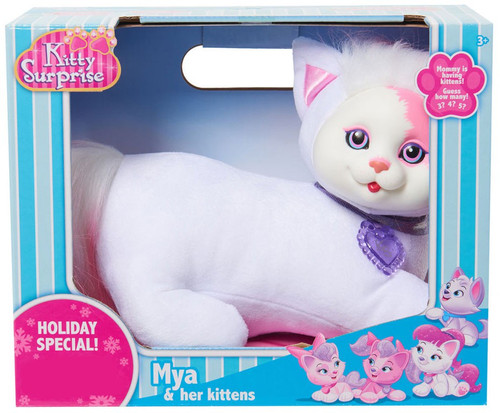 Kitty Surprise Mya & Her Kittens Exclusive Plush Toy