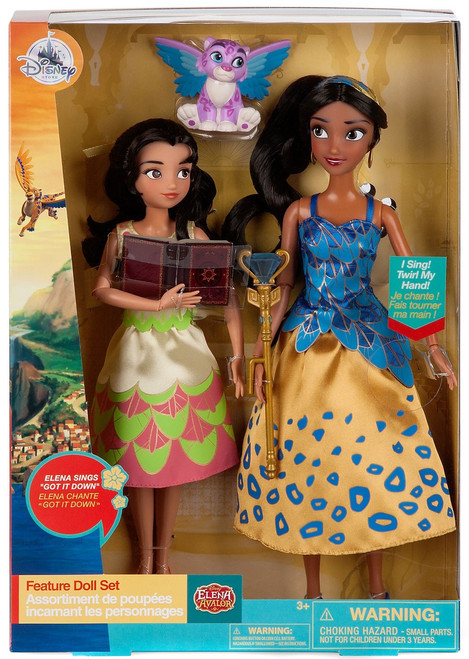 Disney Elena of Avalor Elena & Isabel Exclusive 11-Inch Singing Doll 2-Pack [2017]