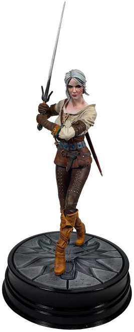 The Witcher 3: Wild Hunt Ciri 8-Inch PVC Statue Figure [Series 1]