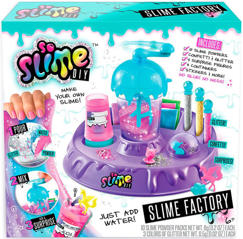 So Slime DIY Slime Factory Playset Starter Kit