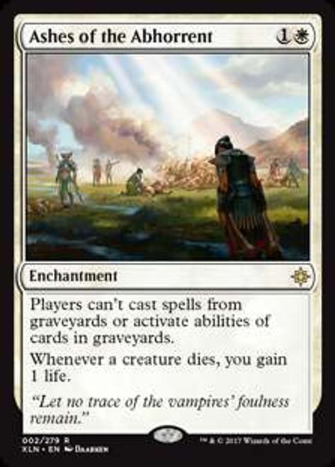 MtG Ixalan Rare Ashes of the Abhorrent #2