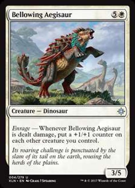 MtG Ixalan Uncommon Bellowing Aegisaur #4