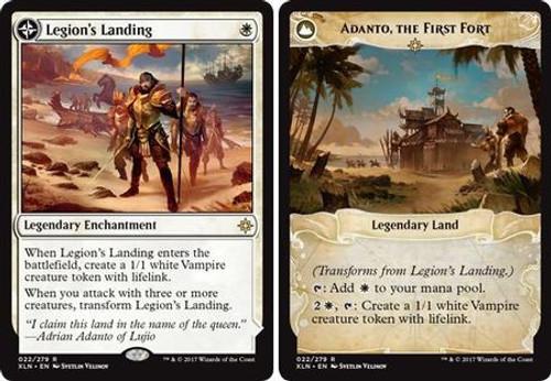 MtG Ixalan Rare Adanto, the First Fort / Legion's Landing #22