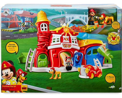 Disney Mickey Mouse Firehouse Exclusive Play Set