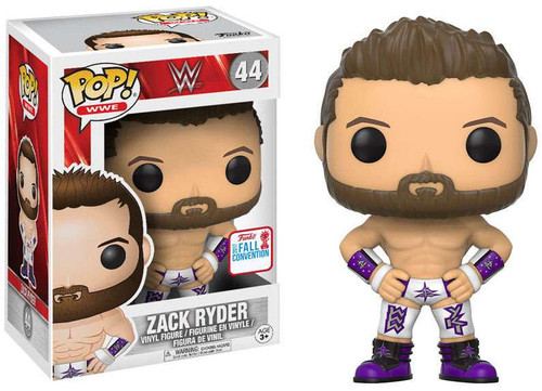 Funko WWE Wrestling POP! Sports Zack Ryder Exclusive Vinyl Figure #44 [Purple & White Attire]