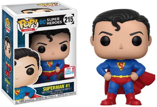 Funko DC POP! Movies Superman #1 Exclusive Vinyl Figure #215