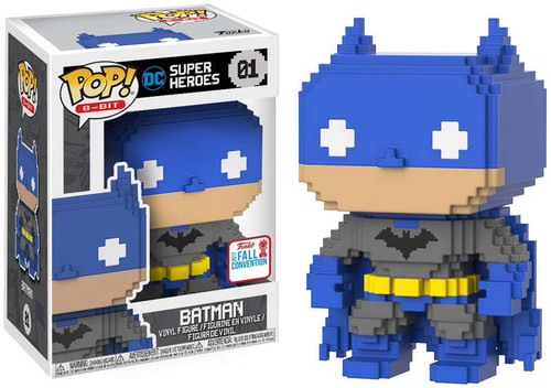 Funko POP! 8-Bit Batman Exclusive Vinyl Figure #01