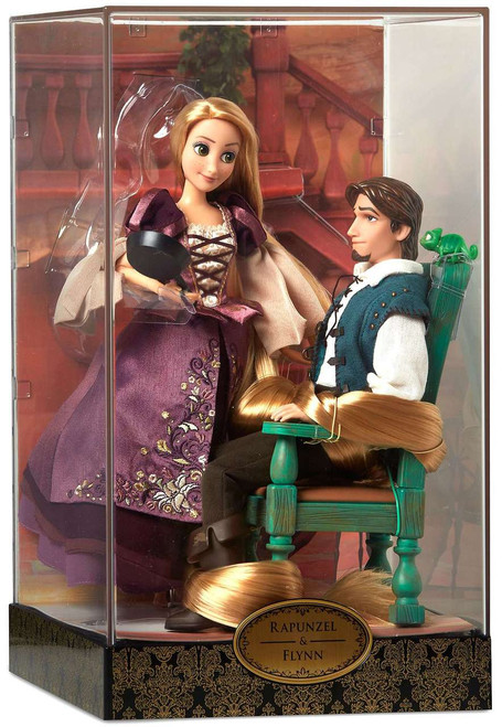 Disney Princess Tangled Disney Fairytale Designer Collection Rapunzel & Flynn Exclusive 11.5-Inch Doll Set