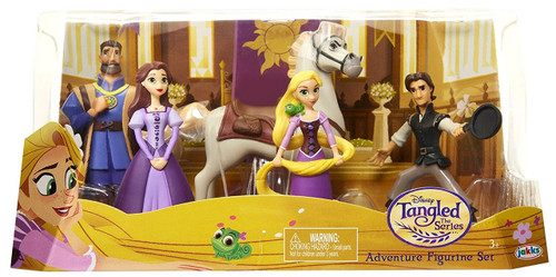 Disney Tangled Adventure 3-Inch 5-Piece Figurine Set