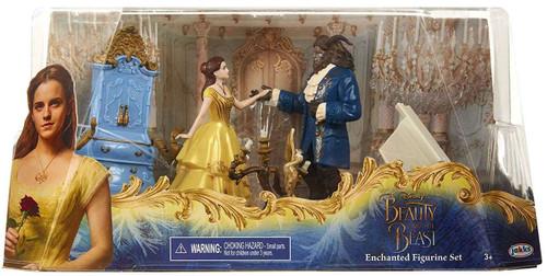 Disney Beauty and the Beast 5-Piece Figurine Set [Enchanted]