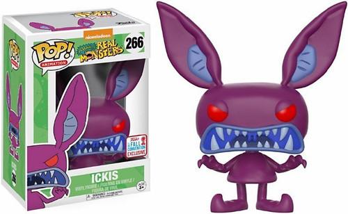 Funko Nickelodeon Aaahh!!! Real Monsters POP! TV Ickis Exclusive Vinyl Figure #266 [Scary]