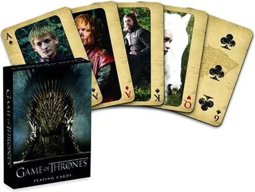 Game of Thrones Playing Card Deck