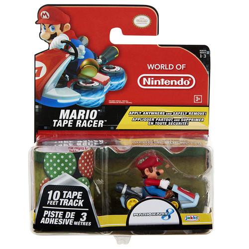 World of Nintendo Mario Kart 8 Tape Racer Mario Figure