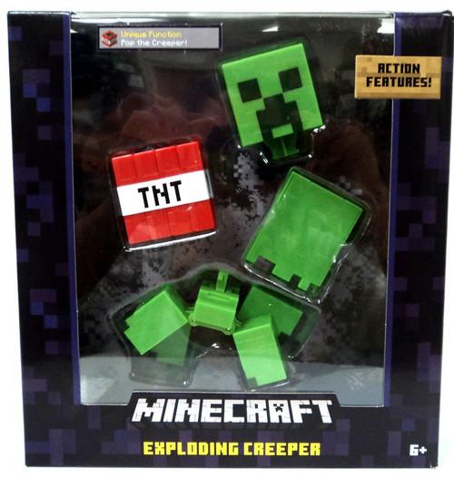 Minecraft Survival Mode Exploding Creeper Action Figure [TNT]