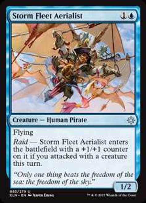 MtG Ixalan Uncommon Foil Storm Fleet Aerialist #83
