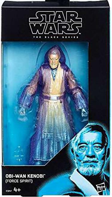 Star Wars The Last Jedi Black Series Obi Wan Kenobi Exclusive Action Figure [Force Spirit]