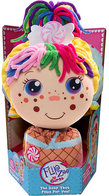 FlipZee! Girls Zandy Candy Plush Doll