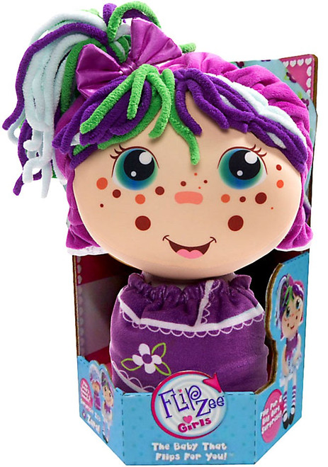 FlipZee! Girls Zara Happy Flower Plush Doll