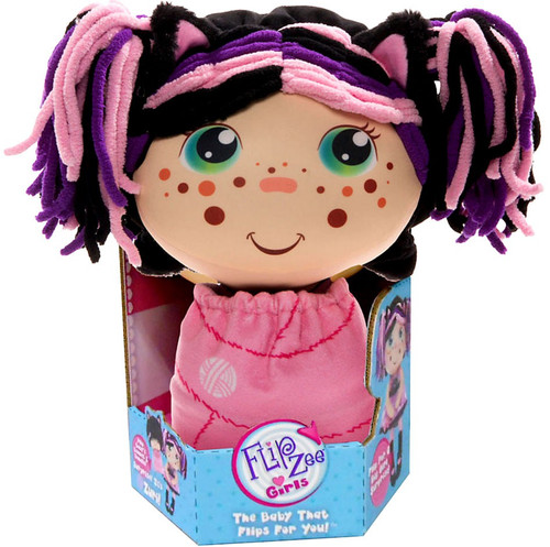 FlipZee! Girls Zuri Kitty Plush Doll [Caucasian]