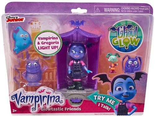 Disney Junior Vampirina Glowtastic Friends Figure 4-Pack