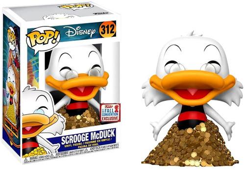 Funko DuckTales POP! Disney Scrooge McDuck Exclusive Vinyl Figure #312 [Swimsuit Version]